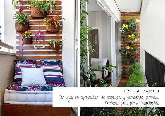 Decora tu peque o rinc n al aire libre pinterest blog - Decora tu terraza ...