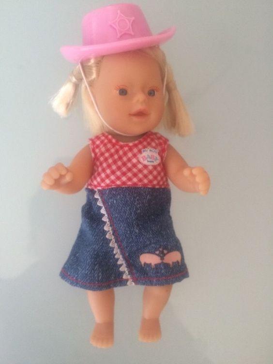 My mini Baby Born  Zapf Puppe  Das Mädel  vom Reiterhof