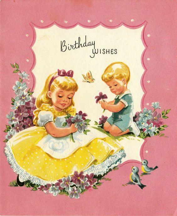 retro birthday wishes - Google zoeken