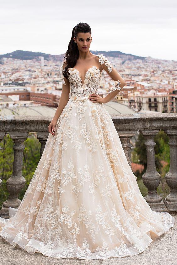 Brooklyn Sheer Bridal Gown