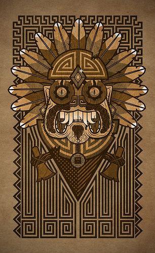 Aztec Calendar Illustration : Mayan illustration cultura estética maya pinterest