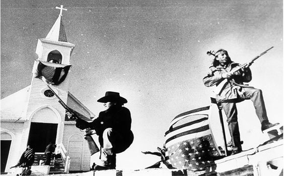 Remembering the Wounded Knee incident, Feb. 27, 1973.