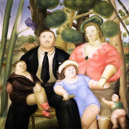 una familia fernando botero 1972 fernando botero