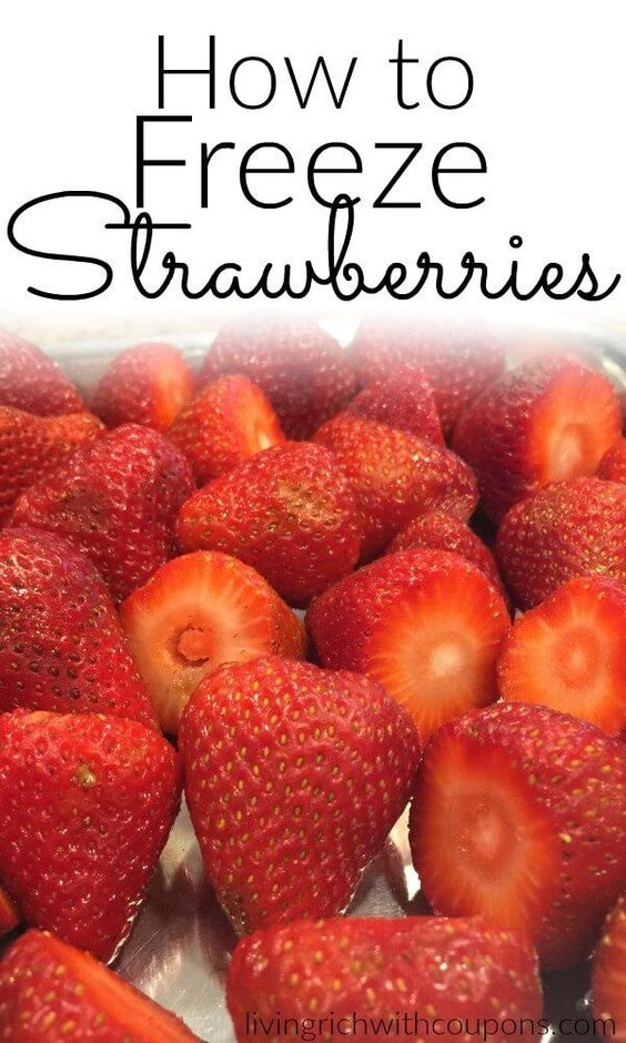 How to Freeze Strawberries, Fantastic Way To Save Those Fresh Picked Strawberries!
