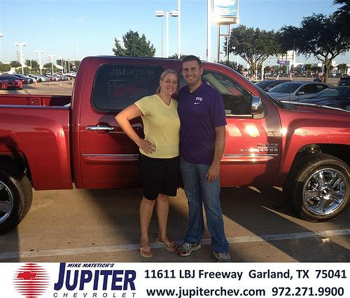 Thank you to Wesley Parnell on the 2013 Chevrolet Silverado 1500 from Stephen Beam and everyone at Jupiter Chevrolet!