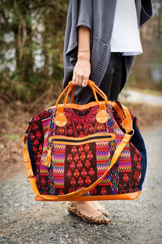 Nena and Co} IHOD  Beautiful Bags! Portions of the proceeds go back to the communities in Guatemala where they were made.