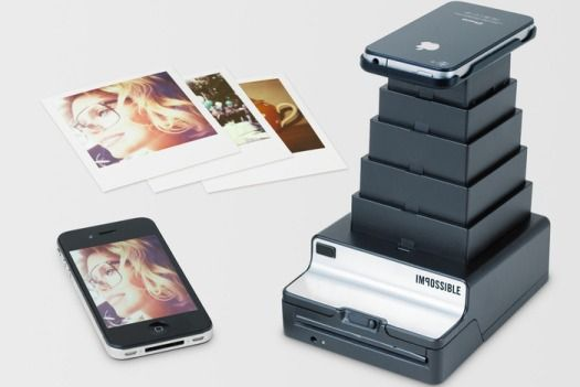 The Impossible Instant Lab solves the problem of printing pictures from the iPhone, ejecting your photos ready to develop in the palm of your hand.