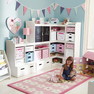 Northcote Toy Box & Ledged Shelf
