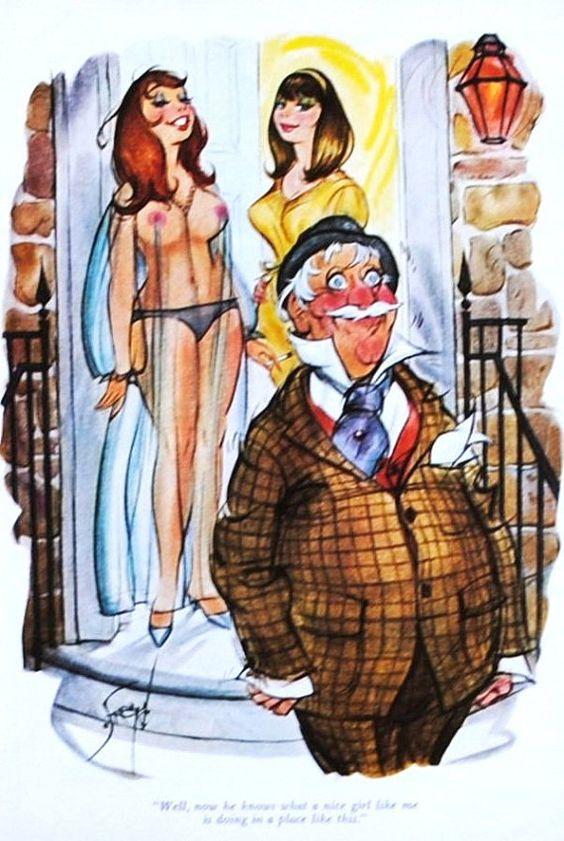 1960 adult cartoons