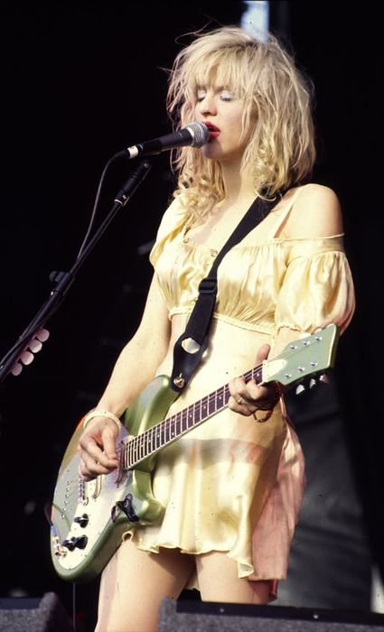 courtney love at the reading festival