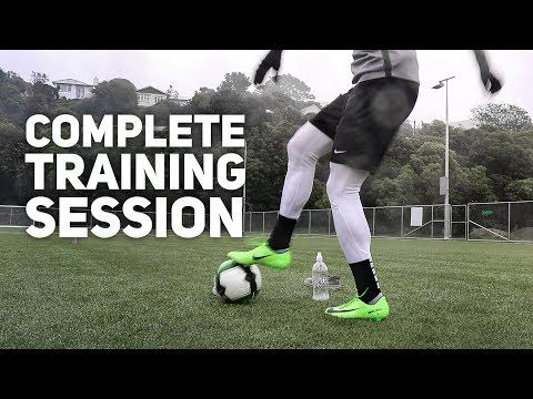 Watch A Pro S Full Individual Training Session Youtube Soccer Workouts Soccer Training Program Individual Training