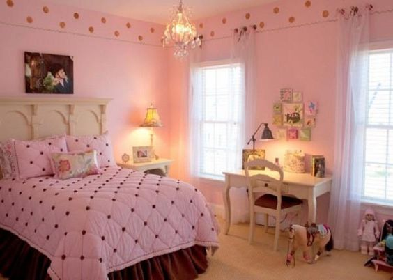 Awesome interior ideas and girls on pinterest for Elegant girl bedroom ideas