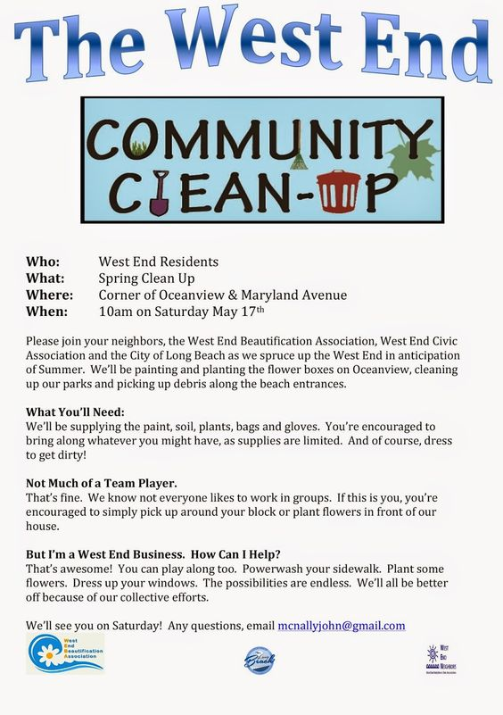 neighborhood clean up flyer template - Google Search Wonu0027t you - handyman flyer template
