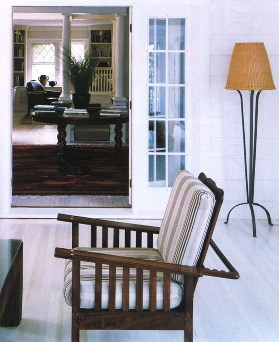 cottage style: Interior, All White, Deck Chairs, Charlevoix Cottage, Cottage Getaway, Dens Sunrooms, Cottage Style, Design