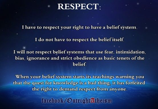 outright atheism