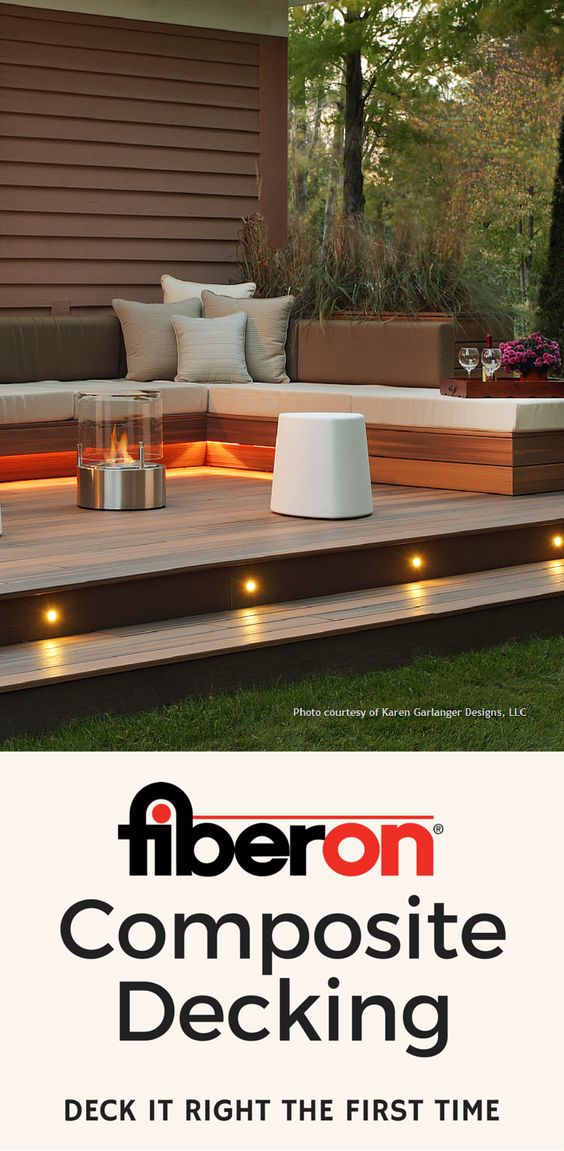 Composite decking decking and fasteners on pinterest for Composite deck fasteners