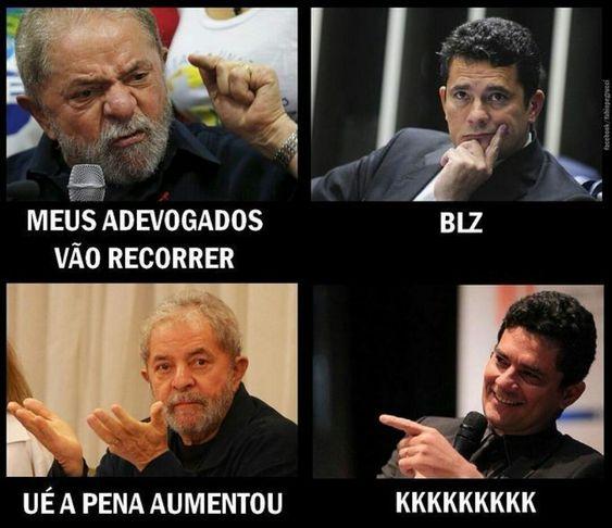 Lula e o aumento de pena