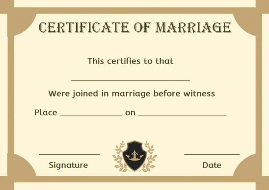 Free Fake Marriage Certificate Template In 2021 Marriage Certificate Fake Marriage Certificate Fake Marriage Certificate Template