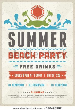 Summer Event Flyer  BesikEightyCo