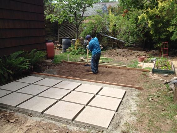 Patio Pavers Base : Paver patio quot no skid product from mutual materials in color latte of quarter minus