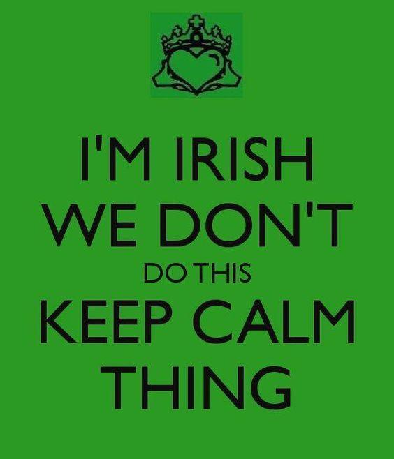 Irish saying...too true!