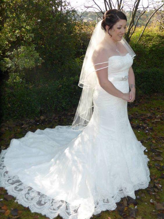 Gemma's wedding gown