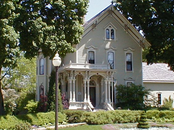 Victorian Houses Illinois And Victorian On Pinterest