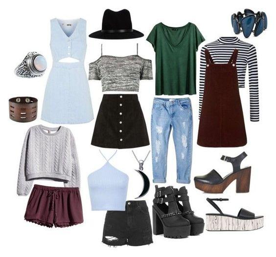 """soft grunge vintage boho lookbook wardrobe"" by thelovelymonalisa on Polyvore"