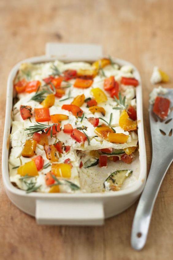 Rezept für Mediterrane Gemüselasagne
