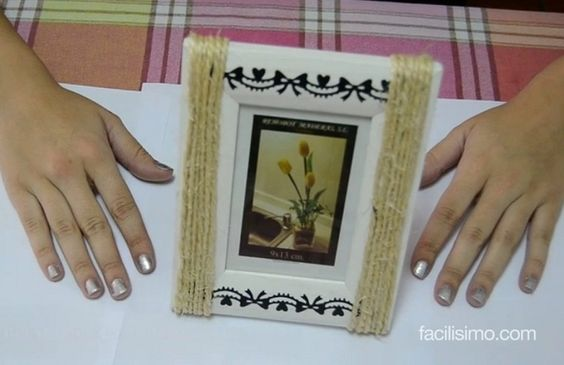 Ideas diy and crafts and blog on pinterest - Marcos para decorar ...