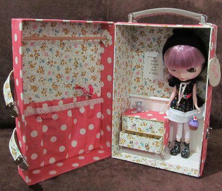 Case para Blythe/Barbie (tecido a escolher) - Papeterie Chic