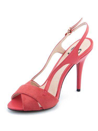 BETSY Women's Romantic High-Heeled Faux Suede Sandal Coral US 7 Betsy,http://www.amazon.com/dp/B00FKOQSJI/ref=cm_sw_r_pi_dp_Oyiltb0AZ0K21EQY