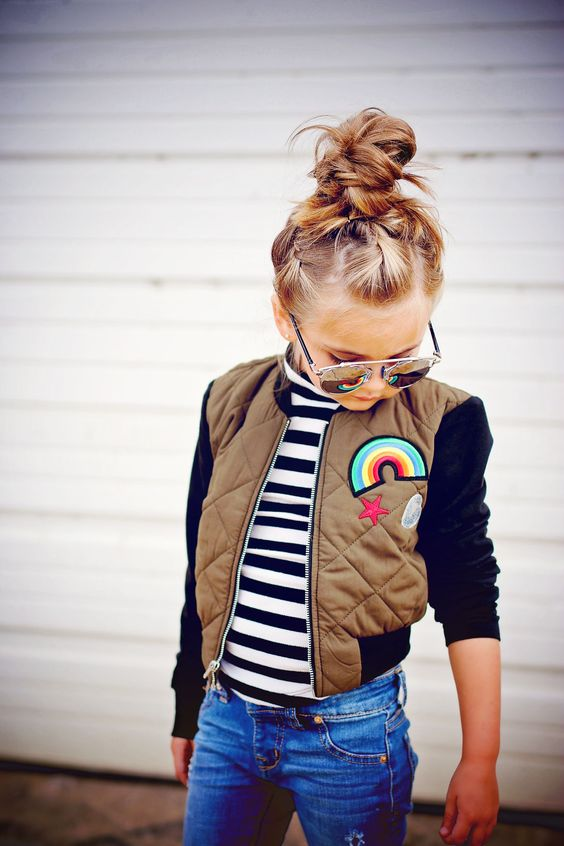 Kids Clothing, bomber jacket, fall style #chasinivy: