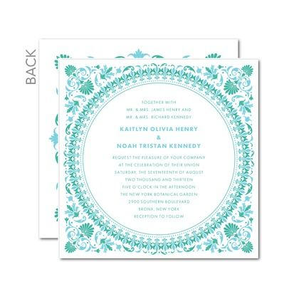 possible wedding invitation....wedding paper divas