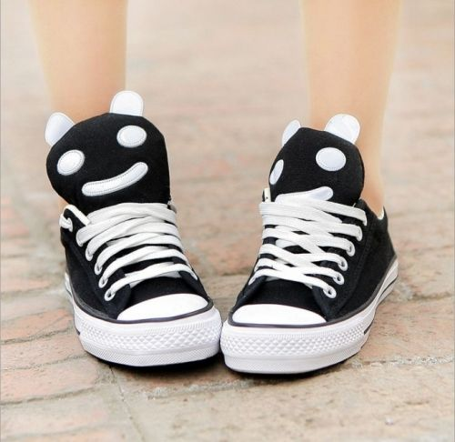 Beautiful Cute panda-Sneakers  Sneakers (black,blue,white) Sneakers from stylishplus.com