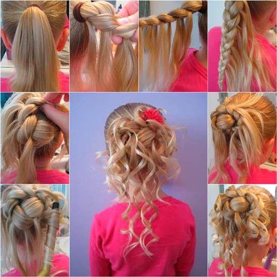 34+ Coiffure fille cheveux long des idees