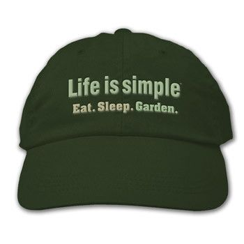 Life is Simple - Garden Cap