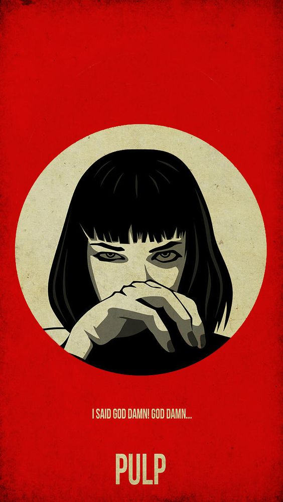 Pulp Fiction Wallpaper Iphone Google Search Film