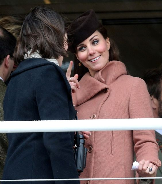 I love that she looks like she's agreeing with something witty I said HRH Catherine, DOC