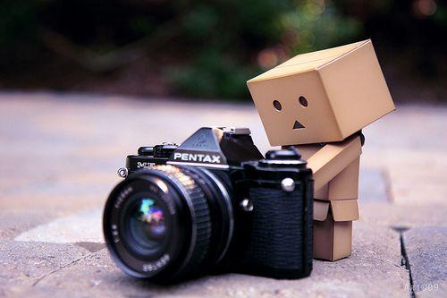 Mini box robot...so cute.