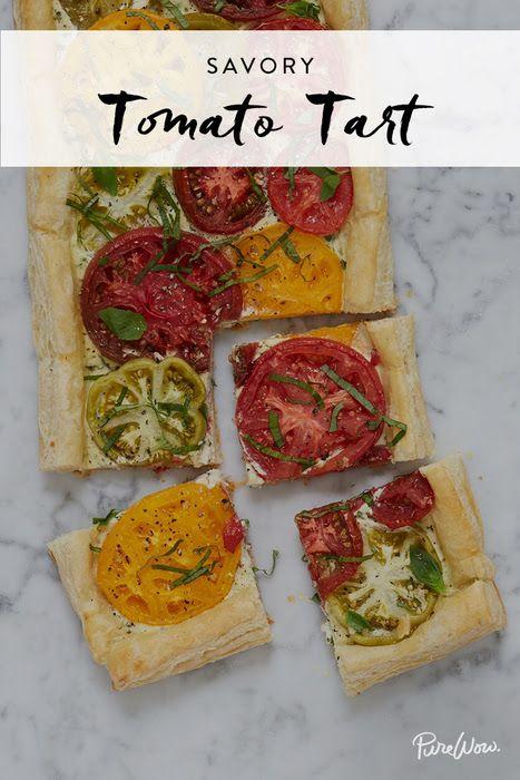 Tomato tart recipe, Tart recipes and Tarts on Pinterest