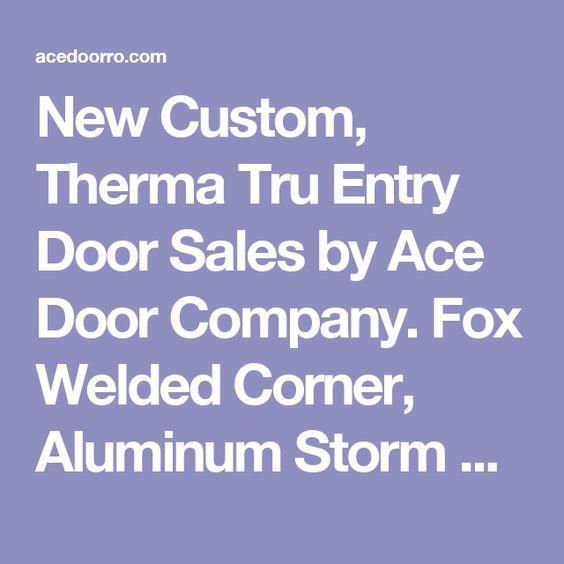 Foxes Storm Doors And Doors On Pinterest
