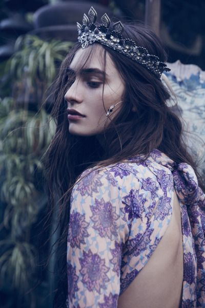 "Marine Deleeuw - For Love & Lemons ""Gypsy Dreamer"" Fall 2015"