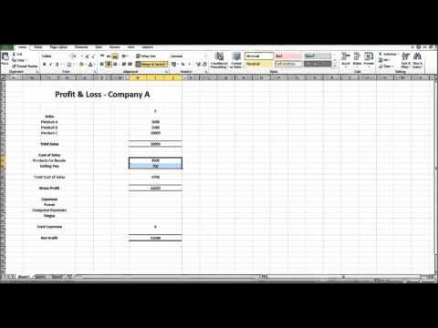 Accounting Basics #3 - Financial Statements - Learn Basic - profit and loss statement simple