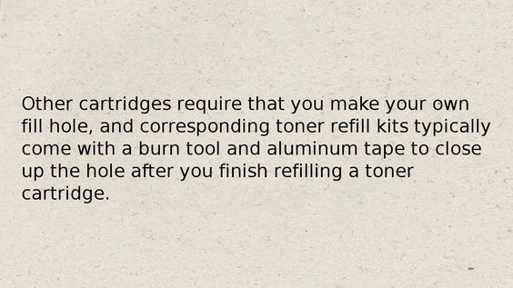 How To add toner