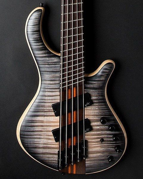 Another killer finish/top combo for the day — the smoky transparent graphite and…