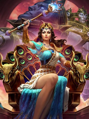 Hera Goddess of women marriage and birth. Queen of the Olympians