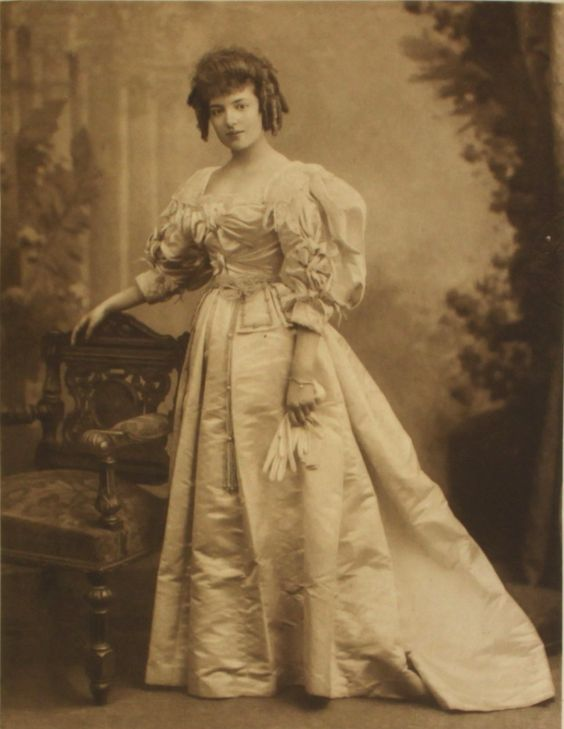 Lady Margaret Villiers as Duchess d'Orleans; one of the 200 guests in fancy dress at the the Duchess of Devonshire's Diamond Jubilee Costume Ball, 1897.