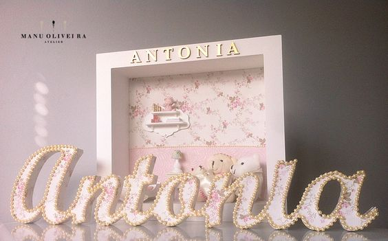 Decoração Quarto da Antonia http://www.ateliermanuoliveira.com.br/