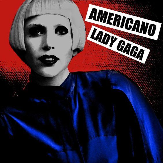 Lady Gaga – Americano (single cover art)